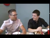 bobby clark and tyler sweet in food fight