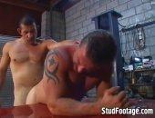 2 Horny Gay Mechanics Fuck Hard
