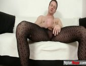 Sexy Twink Boy Clark Having Fun In Pantyhose