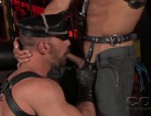 Leather Studs Kristian Alvarez And Scott Carter
