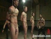 Hunk Trains Some Slaves