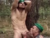 Two Military Studs