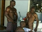 Muscled Black Blowjobs
