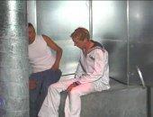 Naval Technicians Below Decks