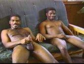 Vintage Blacks Masturbating