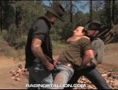 Cowboys Rape A Bandit