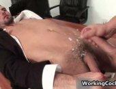Cumming On Bosses Belly