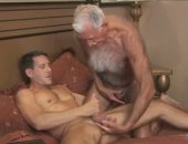 Old Fart With Young Hunk