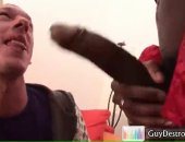 Sucking Big Black Rod