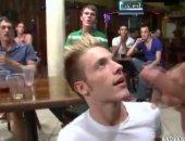 Blowjob At The Bar