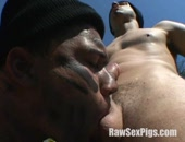 Horny Latino Cock Sucker