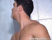 Muscle Hunk Shower Time