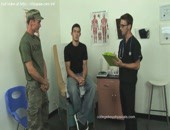Doctor With Young Boys