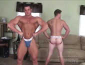 Hot Muscled Wrestlers