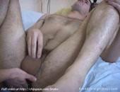 Gay Pushing Dildo Into Ass