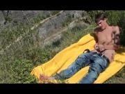 Gay Guy 19yo summer show outdoors