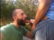 DADDY SUCKING HOT COCK