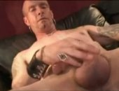 Tattooed Straight Boy Jerks off