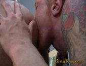 Manly Hairy Hunk Takes Control Of his Cock