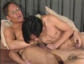 Older Daddy takes his Asian Twink for test drive to see what he can do.  As we all know, Asians do it better.