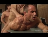 The more the merrier when it comes to these hunky Daddies fucking.  These Dad's like to be passed around so every hole gets stuffed.