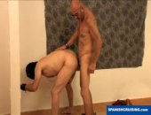 Two old Daddies meet in an abandon house to fuck.  They keep their love and sex a secret from their families.