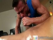 Ripe Oily Stud Gets Ass Massage