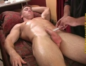 Straight Boy Massaged