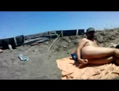 Toy Fuck At the Beach