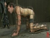 Naked Gays Doing Pushups In Bdsm Sex