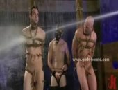 Gay Slave Tortured And Humiliated In Bondage Sex Video With Kink Master In Leather Hot Sex