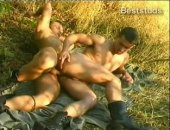 Sexy Military Hot Outdoor Fuck