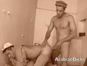 licking arab ass