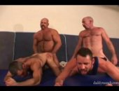 hunky mature orgy