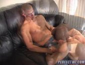 ripped and hung dick smoking