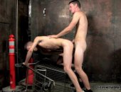 Twink Fucked In Alley