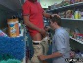 jocks suck cock in a conveniance store