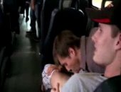 hunks fuck on a bus