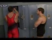 hot jocks in wrestling gear