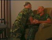 army boys blowing