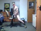 Amateur Chair Handjob