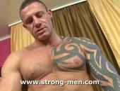 Strong Man Handjob