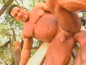 Muscle Outdoor Sex