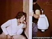 Vintage Gloryhole Blowjob