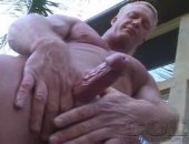 Blonde Mature Handjob