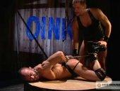 Tied Leather Jock