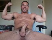 Mature Bear Jerking