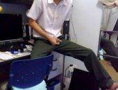 JErking School Boy