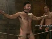 Tied Guy GOt Fucked