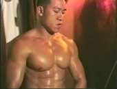 Stacked Asian Body Builder